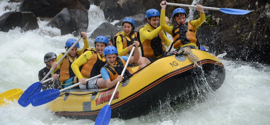 Teens Rafting Adventure Travel Abroad