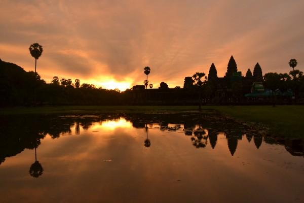 Angkor Wat Ruins Southeast Asia Cambodia Trips