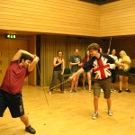 Stage combat can be a useful skill if your tastes run to Elizabethan theatre.