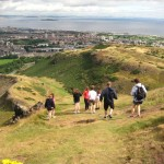 Take a afternoon to enjoy the view of Edinburgh from high atop Arthur's Seat.
