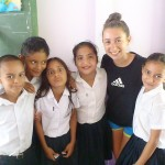 Both on and off the worksite, we make many Costa Rican friends!