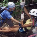 Each weekend we explore Costa Ricas many diverse attractions.  Zip through the cloud forest canopy, spot howler monkeys, relax in hot springs, ride horseback, and hike to a gorgeous waterfall and swim in its refreshingly cool waters.