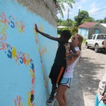 Painting projects are a great way to beautify the community, while getting local kids in on the action!