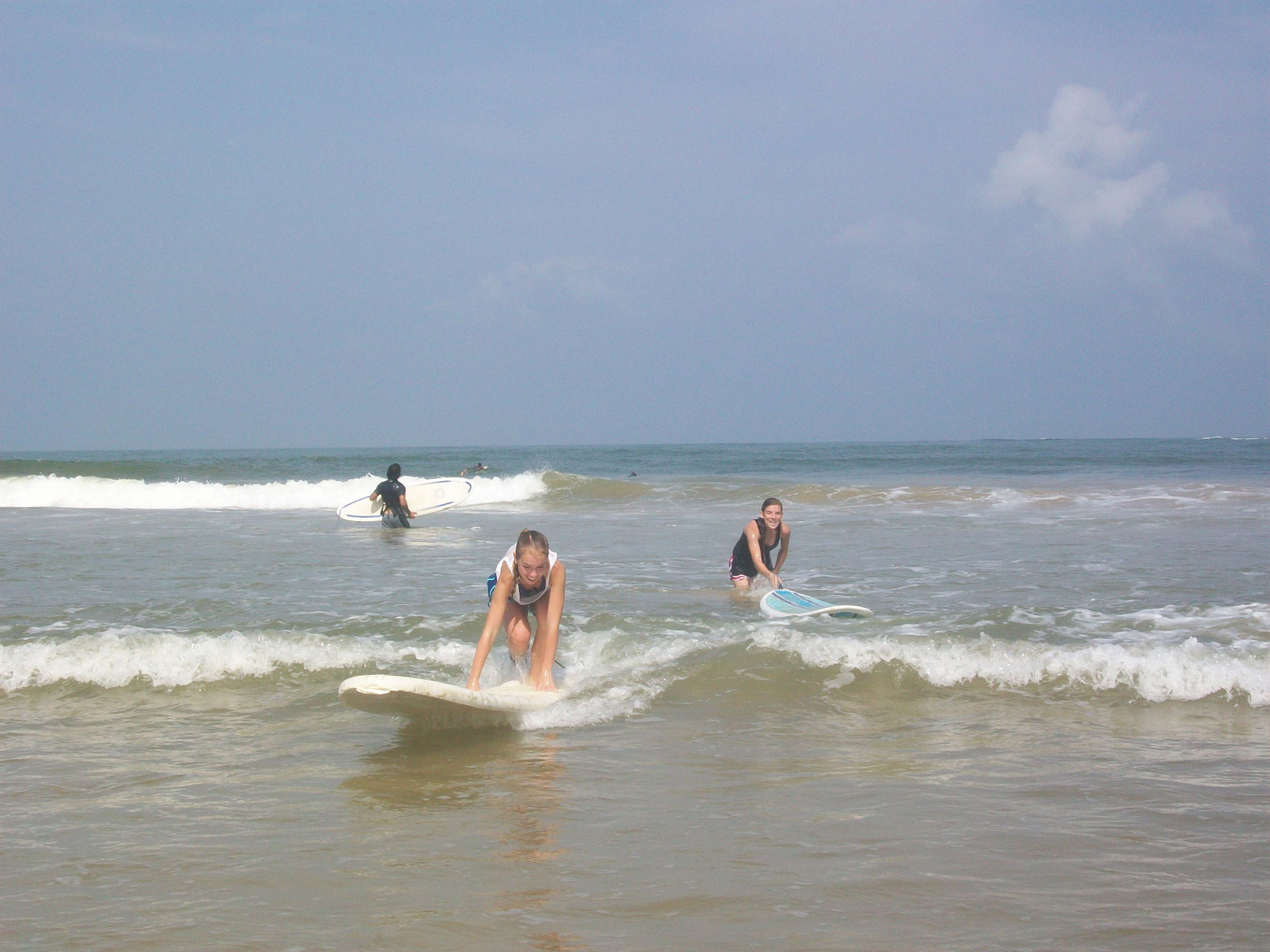 Spend an afternoon at Busua Beach learning how to surf with local guides.