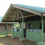 Our accommodations in Ghana are simple, but comfortable, with separate houses for girls and boys. 