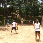 Join in a volleyball match with local friends! There will also be opportunities to join the local soccer team and play against rival teams.