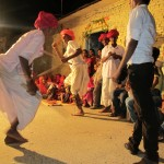 In the evenings, have a game night or learn traditional Rajasthani dancing.