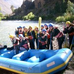 Enjoy an afternoon rafting on the Urubamba River!