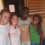 Chris Bromson and Amelia Nebenzahl (on left) led Community Service Senegal in 2009, 2010, and 2011.