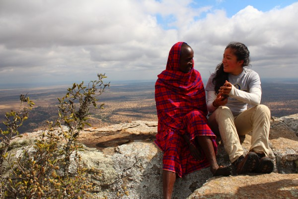 We have a unique opportunity to get to know Maasai culture by staying for a night in a Maasai boma.