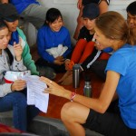 In addition to construction, you also have the chance to teach English to eager local students.