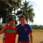 Making friends with local people is one of the most rewarding parts of the program.