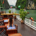 Our last three days are spent exploring Ha Long Bay. With a beautiful boat as our accommodations, swim, kayak, and visit floating villages and secluded beaches.