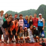 Sasha Milonova and Hao Nguyen (front left) led our Community Service Vietnam program in 2013. Read their bios on our website: http://goputney.com/our-leaders/meet-our-leaders/.