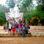 Just 40 years ago, the local area was the scene of some of the most intense fighting of the Vietnam War, including the infamous My Lai massacre. We visit the massacre memorial to understand the context of our visit.