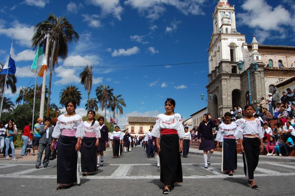 Local Festivals on our Ecuador Community Service Program