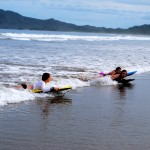 Surf, kayak, snorkel, and swim in the refreshing Pacific Ocean.