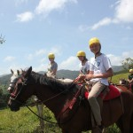 Spend 3 days at an ecolodge near  Arenal Volcano. Kayak, horseback ride, hike, and soak in the thermal hot springs. 