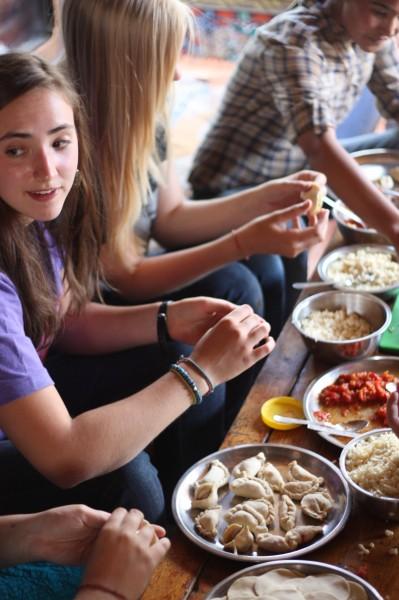 Teen Volunteers in Asia India Summer Program