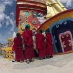 Visits to monasteries in the hills will introduce you to the lives of Tibetan monks.