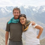 Brian Orland and Becky Lee co-led the Global Awareness in Action India program in 2012.