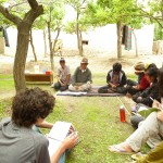 During your down time, interact with local youth, and learn about traditional song and dance.