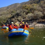 Raft down the Juramento River, just outside the colonial city of Salta in northern Argentina.