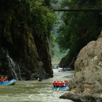 On your final day in country, celebrate with your group as you whitewater raft the Rio Pacuare.