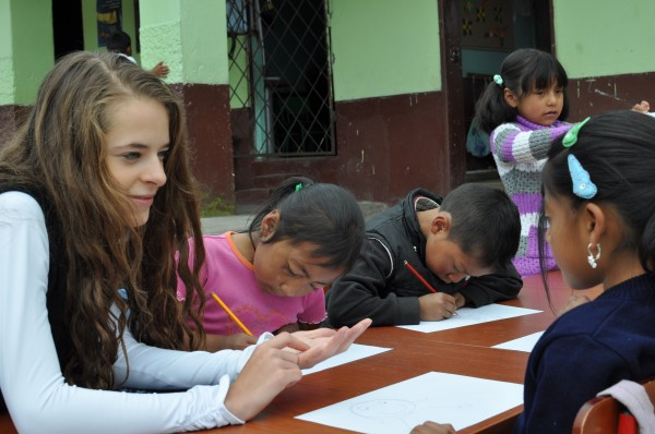 Volunteer for three weeks in a small village and form incredible friendships, both within your Putney group and with Ecuadorians from our project village.