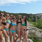 On an excursion from Aix-en-Provence, a swim in the Gard River beneath the famous Pont du Gard is a great way to relax and cool off.