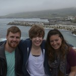 Jake Heaton, Julia Drake, and Allyson Feierberg co-led the Language Learning Spain program in 2013.