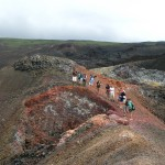 Hike over other-worldly landscapes, explore lava tubes, and trek to the rim of a still-steaming volcanic crater.