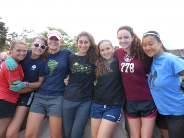 High School Volunteers in Ecuador Community Service Project
