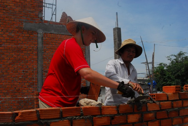 High School Students Volunteering in Vietnam, Asia