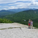 ...or hike in the gorgeous Presidential range of New Hampshire before canoeing down the Conway River...