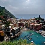 A hike in the hills of Cinque Terre provides breathtaking views.