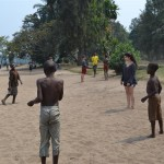 Spend an afternoon on the beach at Lake Kivu.