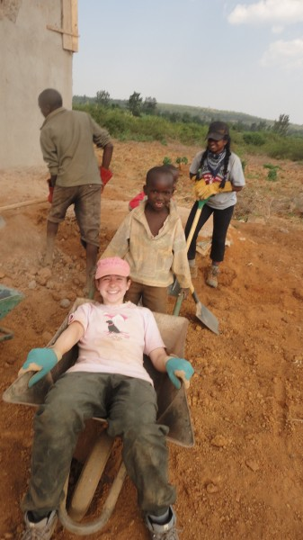 Students Volunteering in Rwanda, Africa