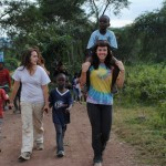 Annie traveled with Putney on four different community service programs.