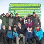 The Putney Kilimanjaro 2012 group reaches the summit!!!