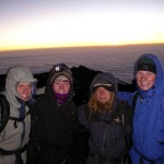 On summit day, get an early start to watch the sun rise over the Serengeti from the top of Kilimanjaro.