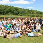 Our Summer 2012 Trip Leaders gather for a group shot.