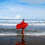 Teen Surfing on Costa Rica Summer Program Abroad