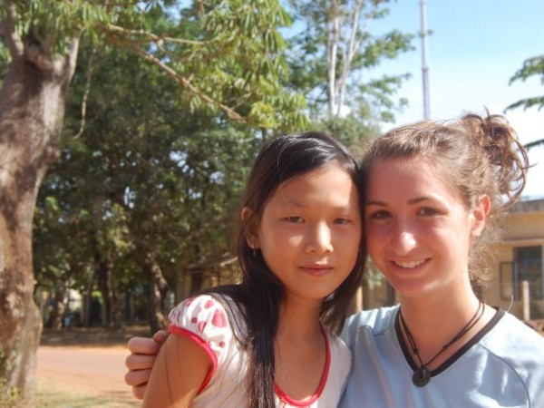 High School Volunteer on Community Service Program in Vietnam