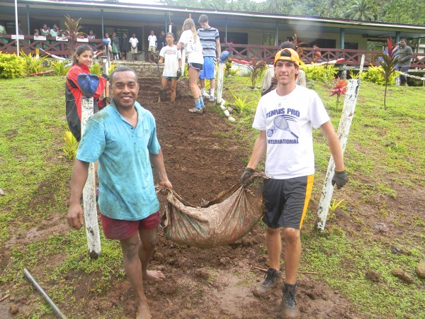Teen Community Service in Fiji