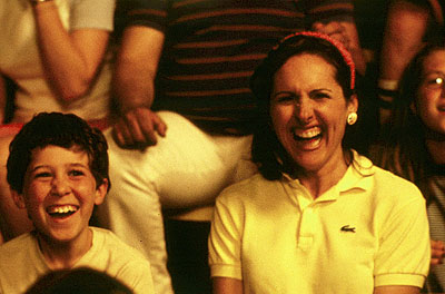 Best known for playing Molly Shannon's support system in the cult classic Wet Hot American Summer, Gideon traveled on a Putney Student Travel program three years after the film hit theaters.