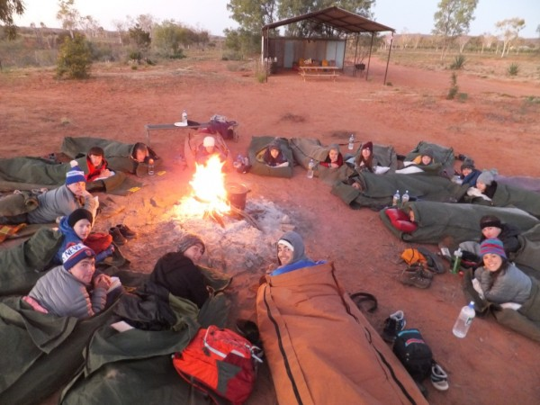 Teen Camping Trip Australia Outback