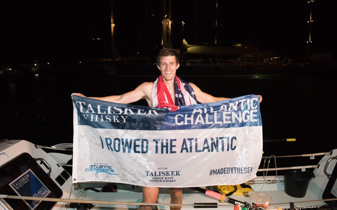 Alumni Spotlight: Oliver Crane Becomes Youngest Person to Row Solo Across the Atlantic