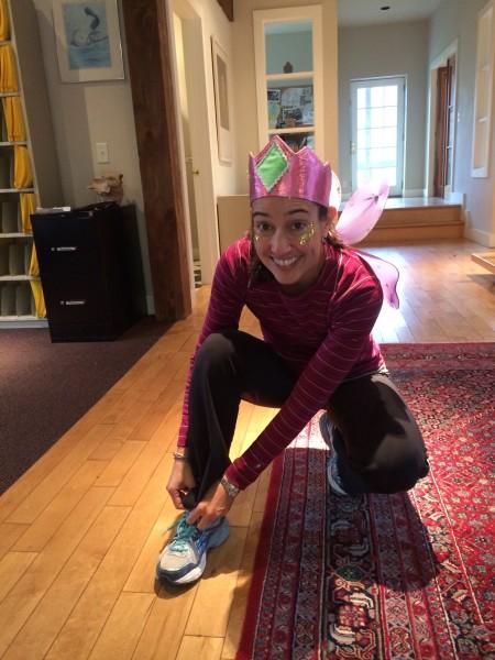 Alex, the marathon fairy.